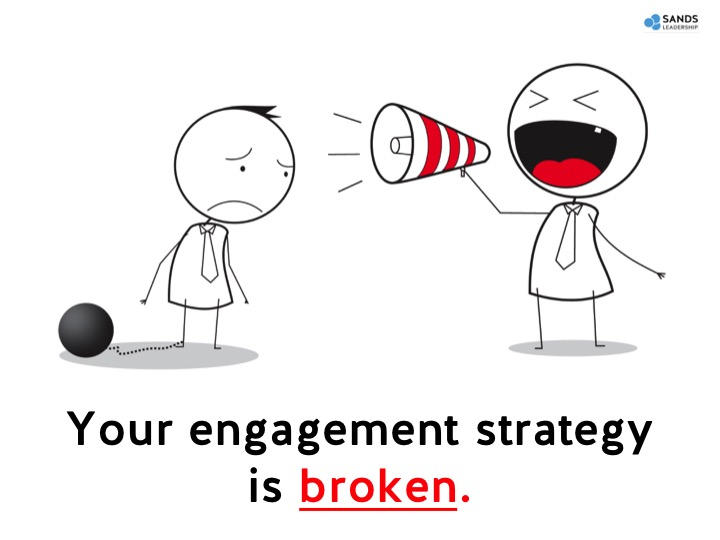 Your engagement strategy is broken