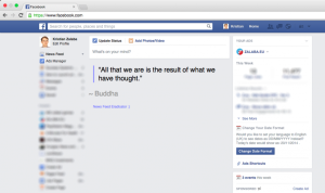 Facebook Newsfeed Eradicator